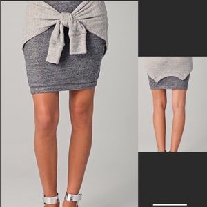 3.1 Phillip Lim sweatshirt skirt with waist tie S